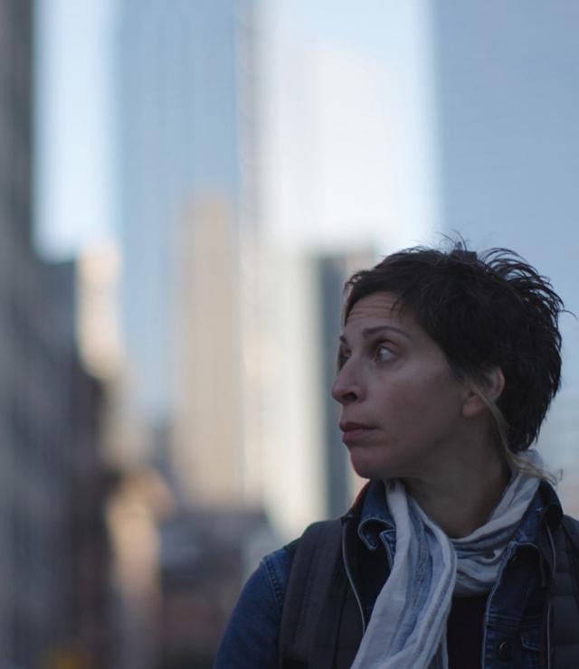 Cinema dérive mit Stadt Streifen im Filmcasino